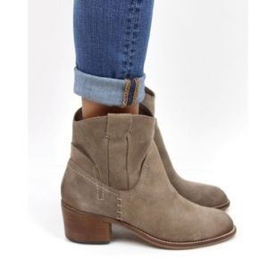 NEW Dolce Vita Graham Suede Bootie w/ FLAWS 7.5